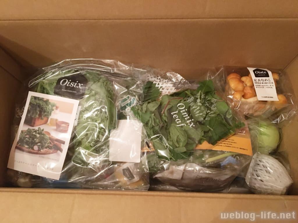 オイシックス お試しセットは旬の野菜たっぷり