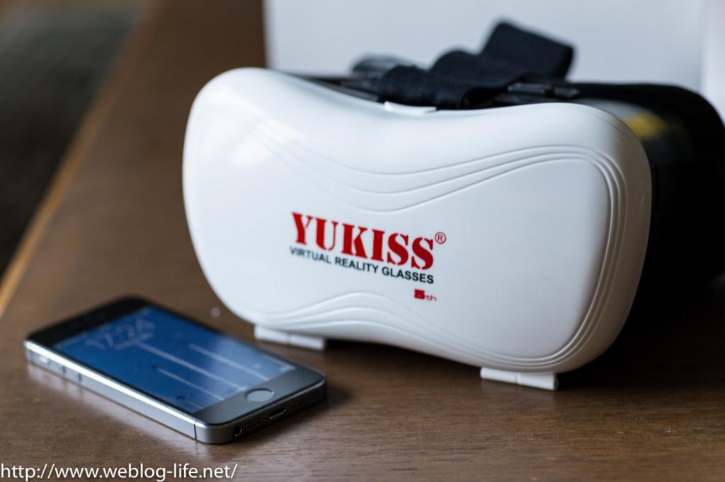 Yukiss 3D メガネ VR ゴーグルを買った