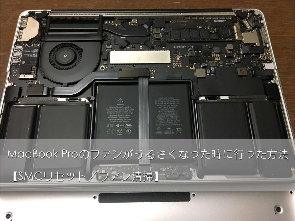 MacBook Proのファン