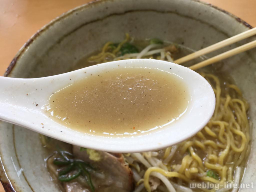 彩未の味噌スープ