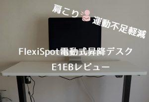 FlexiSpot E1EB レビュー